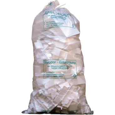 Müllsäcke 2500 Liter, transparent