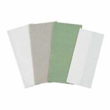 Papierhandtücher 24 x 21,5 cm, 2-lagig, grün ½ Palette = 16 Karton