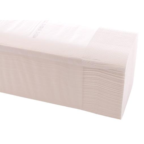 Papierhandtücher 25 x 21 cm, 2-lagig, hochweiß