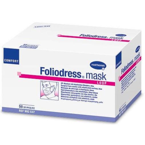 Foliodress® mask Comfort Loop OP-Maske, blau
