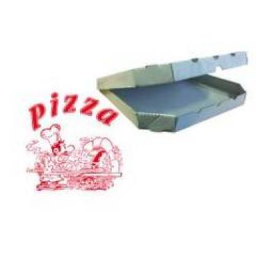 "Pizzakarton ""Treviso"" 1 Packung = 200 Stück, Format: 24 x 24 x 3 cm"