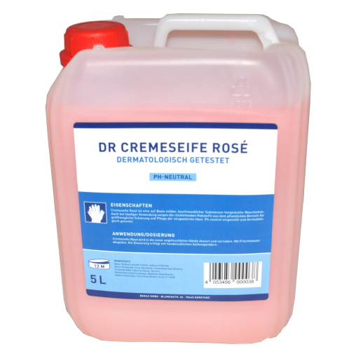 DR Cremeseife rose für Seifenspender
