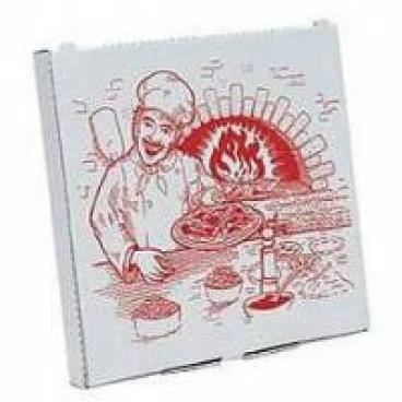 """Pizzakarton """"Cuboxal"""" 1 Packung = 200 Stück, Format: 26 x 26 x 3 cm"""