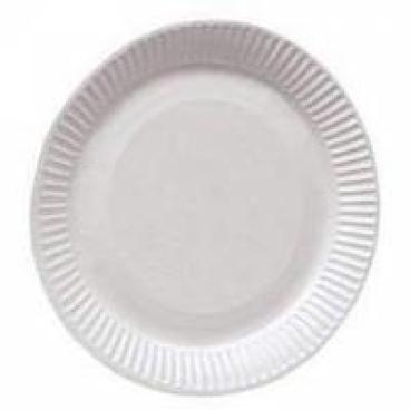Pappteller, weiß, rund 1 Karton =  5 x 100 = 500 Stück, Ø 23 cm