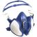 3M Atemschutzmaske Serie 4000
