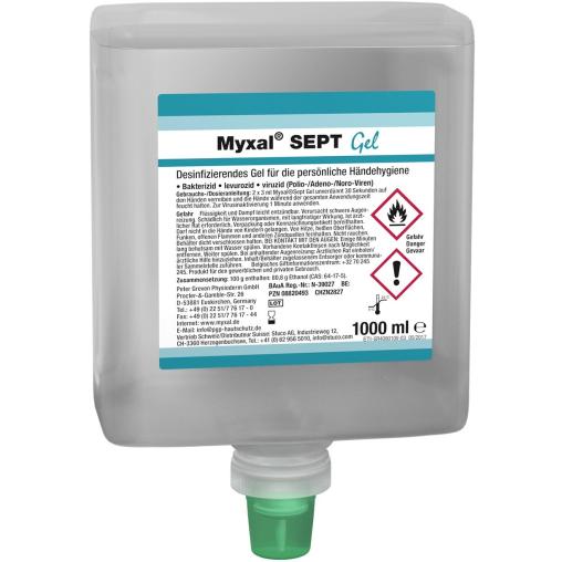 Physioderm® Myxal® SEPT Händedesinfektion