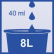 FALA Skona plus Alokoholreiniger 1000 ml - Flasche