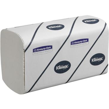 KLEENEX® Premier Handtücher - Medium 1 Karton = 15 x 72 = 1.080 Tücher, 21,5 x 31,5 cm