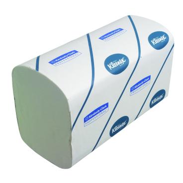 KLEENEX® Ultra Super-Soft Handtücher - Groß 1 Karton = 30 x 72 = 2.160 Tücher, 21,5 x 41,5 cm