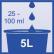FALA Ofan lemon Sanitärreiniger 1000 ml - Flasche