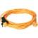 columbus Netzkabel, Signalfarbe (orange)