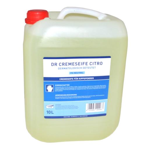 DR Cremeseife Citro für Seifenspender
