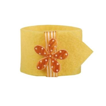 Papstar Flower Serviettenringe