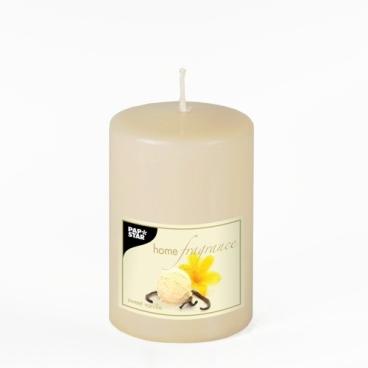 Papstar Sweet Vanilla Duft-Stumpenkerze