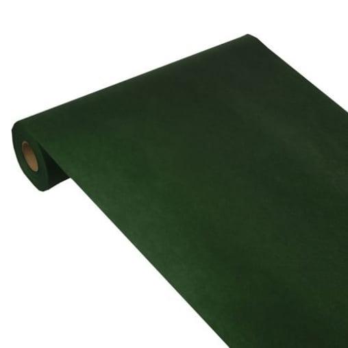 Papstar Soft Selection Tischläufer, dunkelgrün