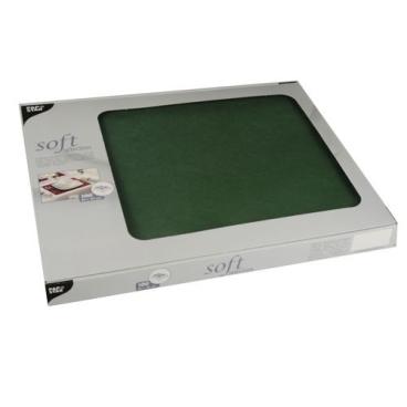 Papstar Soft Selection Tischsets, dunkelgrün