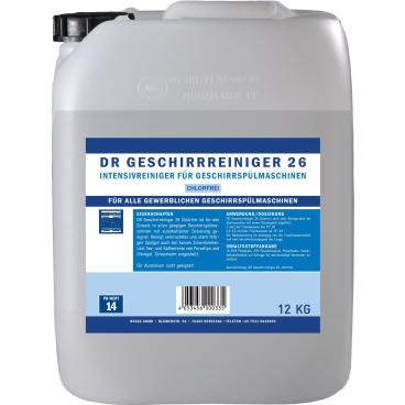 DR Gewerbe Spülmaschinenreiniger 26 chlorfrei
