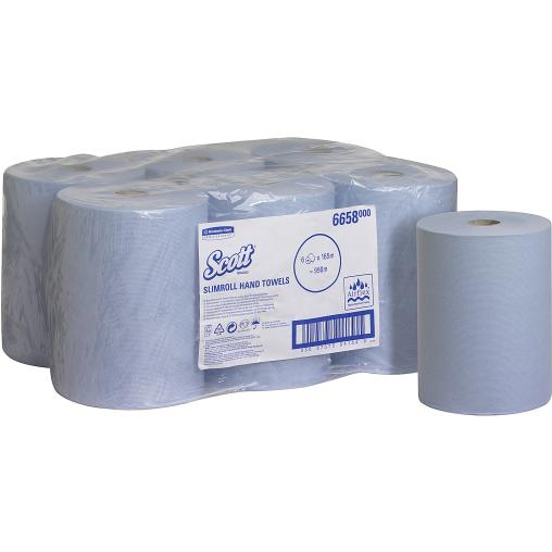 SCOTT® Slimroll Rollenhandtuch blau