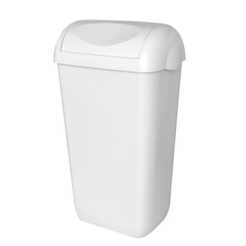 racon® trash Abfalleimer mit Schwingdeckel, 23 L