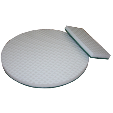 "Floorstar Magic Superpad 16"" Melaminpad, weiß"