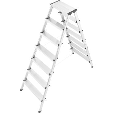 Hailo D60 StandardLine Sicherheits-Doppelstufenleiter