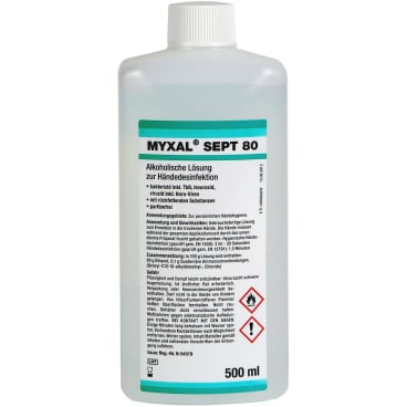 MYXAL® SEPT 80 Händedesinfektion