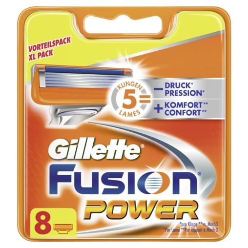 Gillette Fusion Power Systemklingen