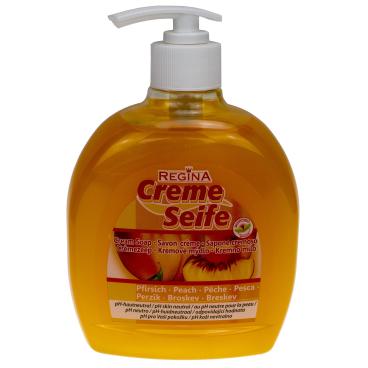 Regina Hautschutz und Reinigung Creme-Seife Pfirsich