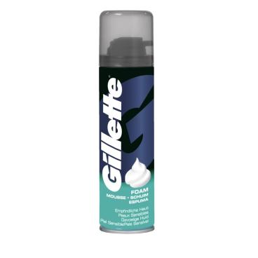 Gillette Basis Schaum für empfindliche Haut