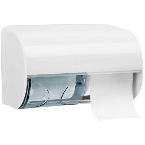 racon® classic twins side Toilettenpapier-Spender