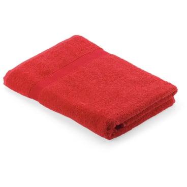 MEGA Clean Professional Baumwoll-Duschtuch, 70 x 140 cm 1 Stück, Farbe: rot