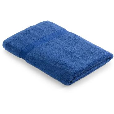 MEGA Clean Professional Baumwoll-Duschtuch, 70 x 140 cm 1 Stück, Farbe: kobalt