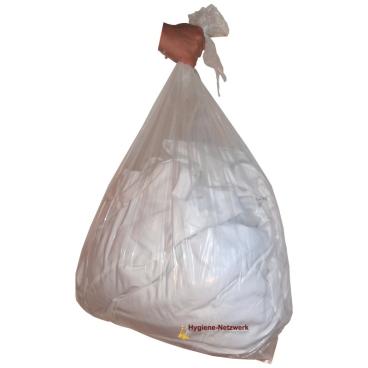 Wasserlöslicher Wäschebeutel, 87 l, transparent