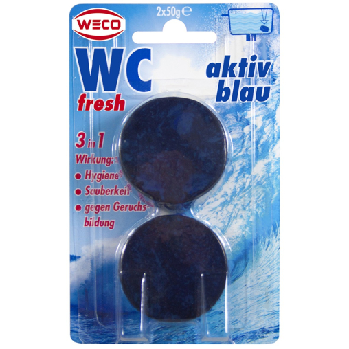 WECO WC-fresh aktiv blau