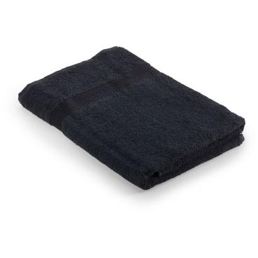 MEGA Clean Professional Baumwoll-Duschtuch, 70 x 140 cm 1 Stück, Farbe: schwarz