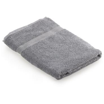 MEGA Clean Professional Baumwoll-Duschtuch, 70 x 140 cm 1 Stück, Farbe: grau