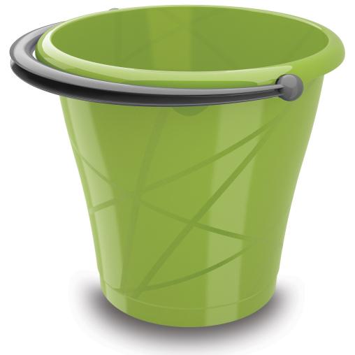 KIS Round Bucket Eimer in verschiedenen Farben