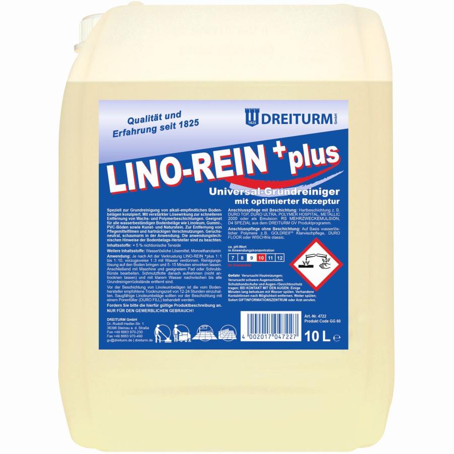 Dreiturm Lino Rein Plus 10 L Kanister Online Kaufen Hygi De