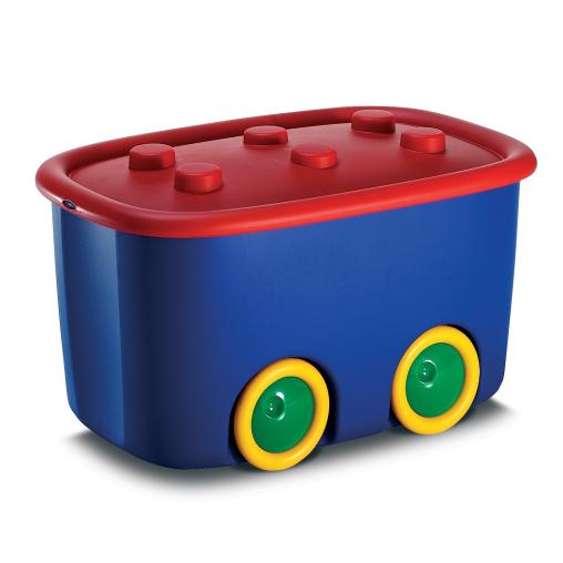 KIS Funny Box Spielzeugkiste in verschiedenen Farben