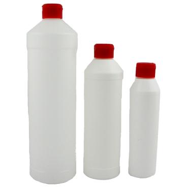 Leerflaschen Fassungsvermögen: 250 ml, Farbe: weiß