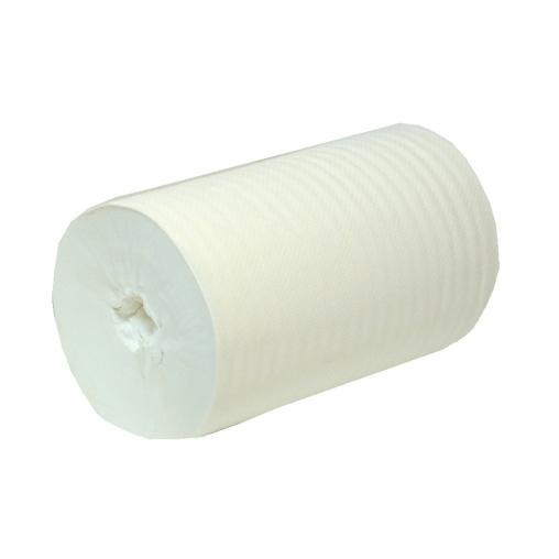 Handtuchpapier-Rolle, OHNE KERN, 1-lagig, 20 cm
