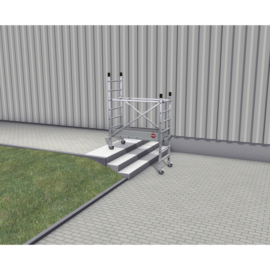 hailo profistep multi aluminium ger st 1 aufstockung online kaufen. Black Bedroom Furniture Sets. Home Design Ideas