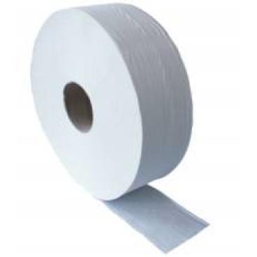 Jumbo-Toilettenpapier, Tissue, 2-lagig, hochweiß 1 Paket = 6 Rollen