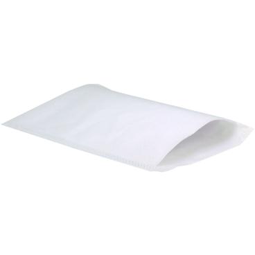 UNISAN® Waschhandschuh, Vlies, weiß, de Luxe