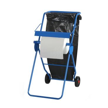 zetMatic® Bodenständer mit Abfallsackhalterung