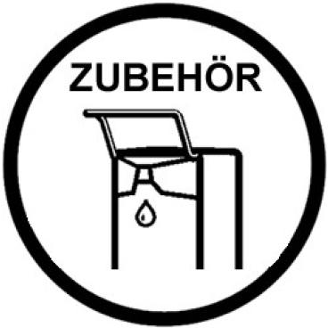 CLIVIA® Ersatzbehälter für Seifenspender aus Edelstahl