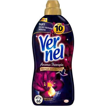 Vernel Weichspüler Aroma-Therapie Patschuli-Öl & lila Orchidee