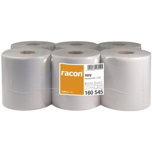 racon® easy Handtuchrollen, 20 cm x 320 m, 1-lagig, naturweiß