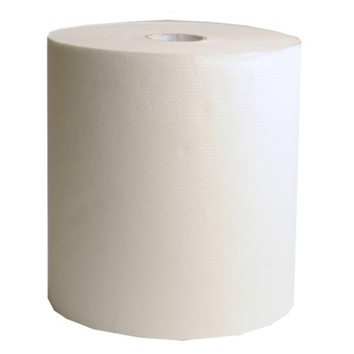 Rollenhandtuchpapier, 2-lagig, weiß