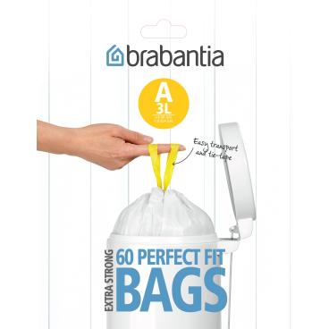 Brabantia (A) Müllbeutel, 3 Liter